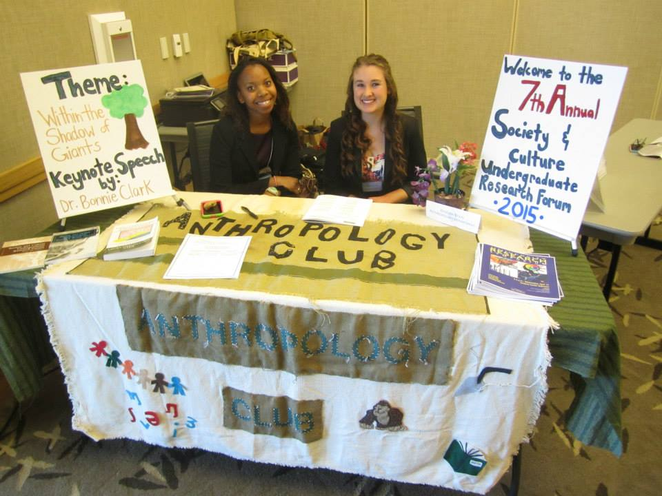 SCURF welcome table